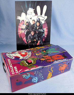 Real Ghostbusters 1988 12-figure collectors case & 3-D lenticular art poster