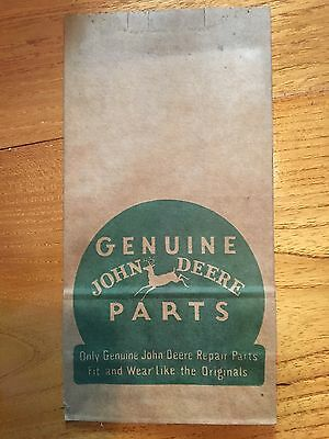 Vintage John Deere Parts Bag.  1940s and 1950s.