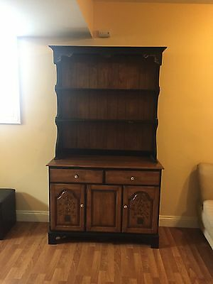 hitchcock tall cabinet 2 piece