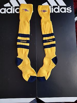 Retro Adidas Football Socks   Arsenal  Football Club Junior Size 10 - 2