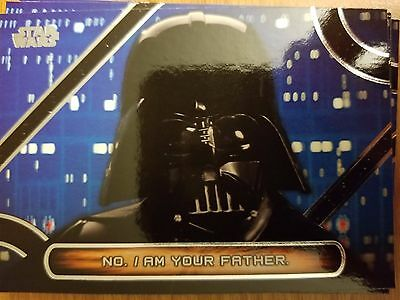 2017 Star Wars Galactic Files Reborn #MQ-12 Darth Vader Famous Quotes NM-Mint