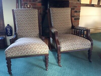 Pair of Antique chairs - victorian ?