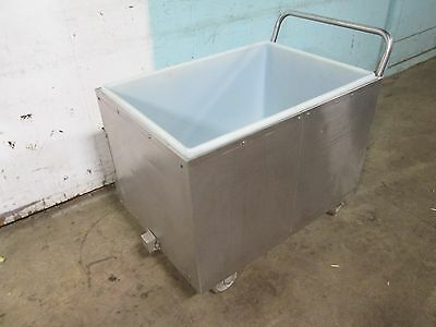 """""""follett - Lits Cart"""" Commercial Heavy Duty Insulated S.s. Cold Food/ice Cart"""