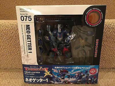 Kaiyoto Revoltech 075  Neo Getter 1 Action robot Figure! New! From Japan!