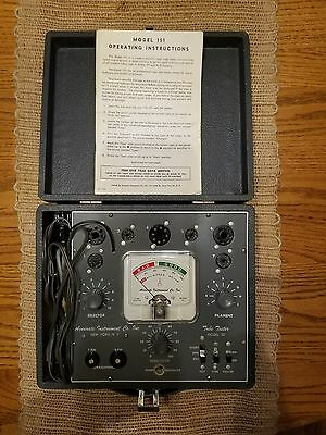 Vintage Tube Tester Accurate Instrument Co. Tube Tester Model 151