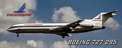 Piedmont Airlines Boeing 727 Photo Magnet (PMT1540)