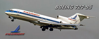 Piedmont Airlines Boeing 727 Photo Magnet (PMT1539)
