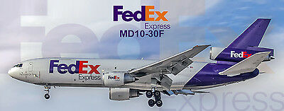 FedEx Airlines MD10-30F  Photo Magnet (PMT1531)