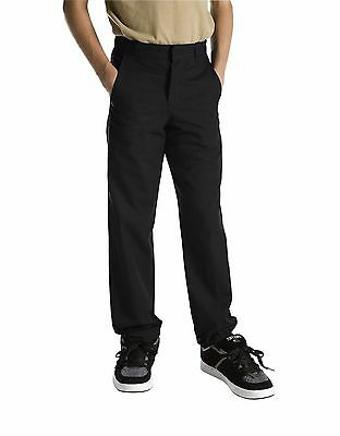 Dickies Boys/Girls Classic Fit Straight Leg Flat Front Uniform Pants Size 4 - 20