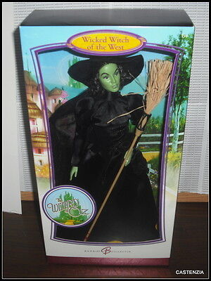 Nrfb Htf Pink Label Mattel Barbie Doll Wizard Of Oz Wicked Witch Of The West