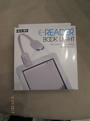 NEW NIP Zelco E-reader Booklight Reading Aid BOOK LIGHT Night Reader