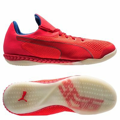 4a6cb7fa971 Puma 365 EvoKnit Ignite 2017 IT Indoor   Training Soccer Shoes Coral Red    Pink