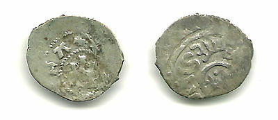 KAFFA - Genoese-Tatar Issue, Silver Asper, minted 1252-1481. Early Trade Coin!