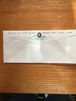 John Deere Legal Size Envelope, New Lothrop Michigan 1940-1955