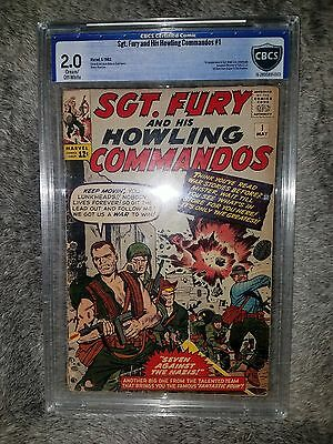 Sgt. Fury and His Howling Commandos #1 (1963) - CBCS 2.0 - 1st app Nick Fury