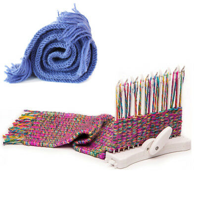 Scarf Knitting Machine Knitting Loom Knit Hobby Tool Kits Craft Needlework