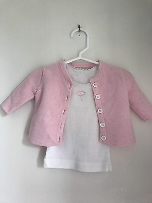 Marquise Pink Baby Girl Cardigan