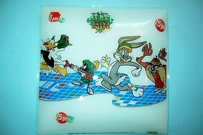 Bugs Bunny Ceiling Light Cover with Daffy Duck, Taz, and Marvin the Martian