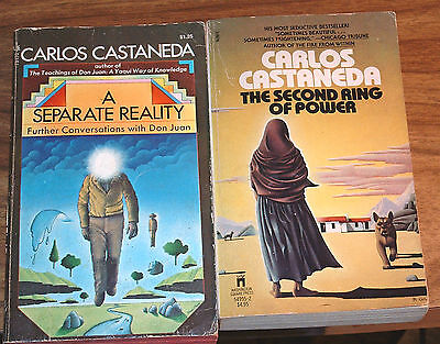 Lot-2 PB CARLOS CASTANEDA The Second Ring Of Power A SEPARATE REALITY Don Juan
