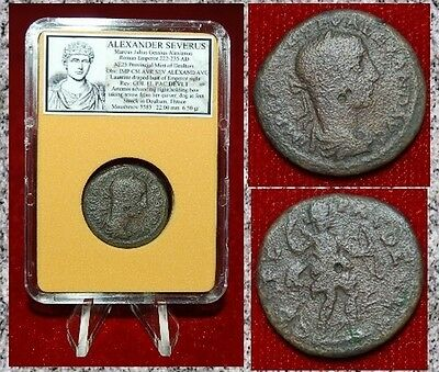 Ancient Roman Empire Coin Of ALEXANDER SEVERUS  Artemis With Bow