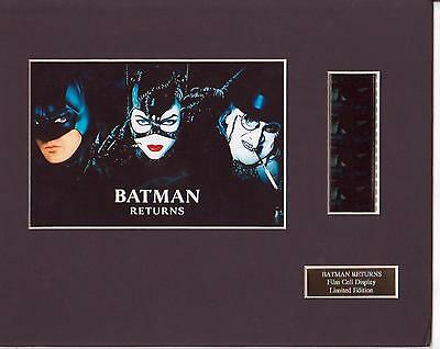 Batman Returns Film Cell Display Limited Edition Rare