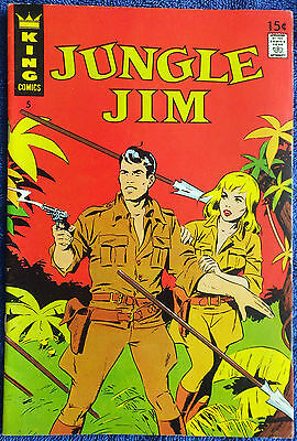Jungle Jim #5 - King Comics! Frank Thorne! Very nice copy!