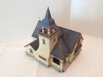 Department 56 Season's Bay Chapel on the Hill #53402 Mint Condition