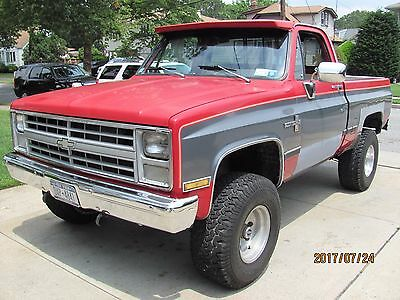 1982 Chevrolet Other Pickups  1982 Chevrolet K-10 Pickup 4wd 4 Speed Manual Transmission