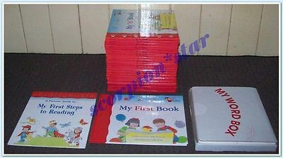 MY FIRST STEPS TO READING : COMPLETE SET 26 BOOKS and CARDS : JANE BELK MONCURE