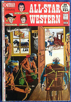 All-Star Western #9 - Bat Lash! Pow-Wow Smith! Buffalo Bill! Frank Frazetta!