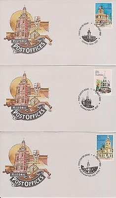 (K38-6) 1980-3 AU mix of 27 FDC & PSE mixed condition (some toning) (6F)