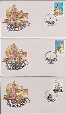 (K38-3) 1980-3 AU mix of 26 FDC & PSE mixed condition (some toning) (3C)