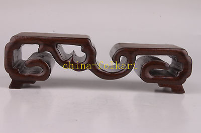 Senior Wooden Exquisite Snuff Bottle Display Base Collection