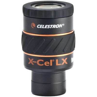 "Celestron X-Cel LX 9 mm Eyepiece 1.25"" Barrels Fully Multi-coated 93423"