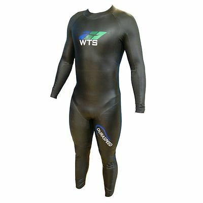 NEW - WTS Triathlon Wetsuit Mens - 5mm - Long Sleeve - Tapered Buoyancy Panels
