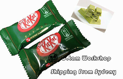 24pcs Japanese Snack Nestle Japan Kitkat Kit Kat Matcha Green Tea Chocolate