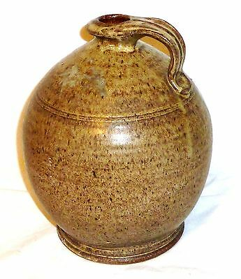 Vintage 1975 J.C.P - J.J  Salt Glazed Whiskey?  STONEWARE POTTERY very rare!