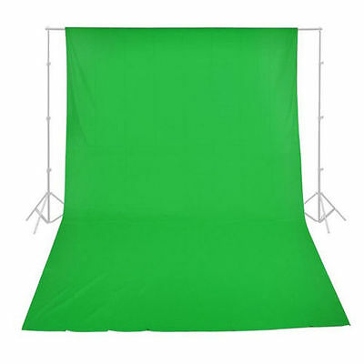 3x3.6M Photo Studio Muslin Cotton Backdrop Chromakey Green Screen Background New