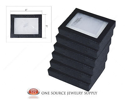 "6 New Riker Display Mounting Boxes Riker Display Cases Riker Boxes X-Small 4""x3"""