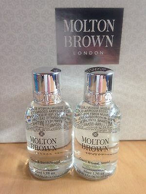 Molton Brown Coco & Sandalwood Body Wash Travel Set 2 X 50 Ml