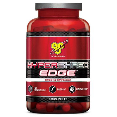 Bruleur de graisse Hypershred Edge 100caps – BSN nutrition