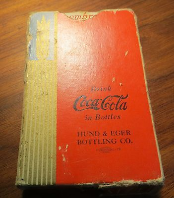 1939 Originl Vintage RED COCA COLA Soda PLAYING CARDS 54 CARDS SET