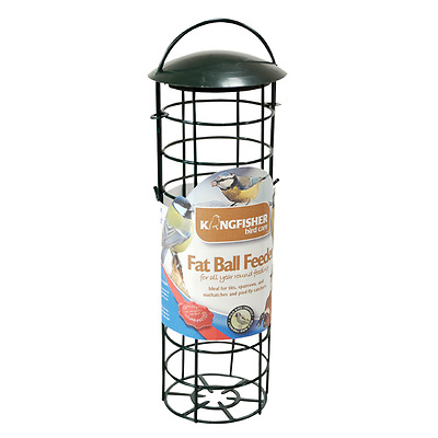 GREEN GARDEN BIRD CARE Standard Suet Fat Ball Feeder High Quality UK FREE P&P