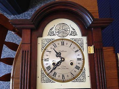 Vintage Waltham 31 Day Chime  Wall Clock Tempus Fugit