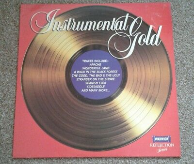 Instrumental Gold various artists vinyl LP