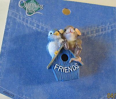 "Charming Tails Lapel Pins....""friends""..new Condition..."
