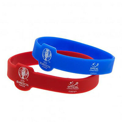 Euro 2016 - Silcone Wristbands (2 Pack) - GIFT