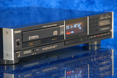►Teac Zd 5000◄Lettore Cd Player Vintage High End 1985 Vintage Old School