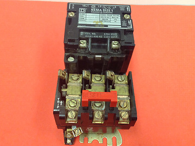 Square D - Class 8536, Type SCT0-3 - Size 1 Starter, Series A