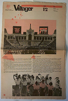 Orig.PRG / Guide / Olympic News    Olympic Games LOS ANGELES 1984  -  11.08.  !!